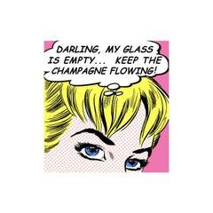 Nelson De La Nuez, Champagne Girl