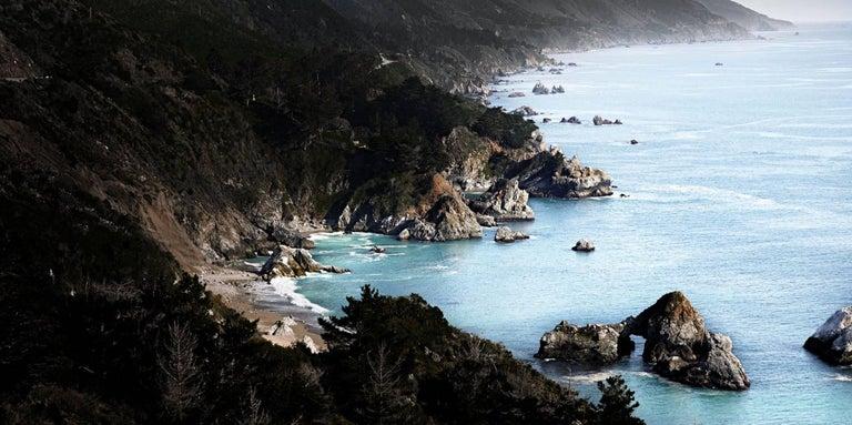 David Drebin Landscape Print - The Blue Sea