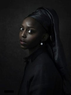 Black Girl with Pearl