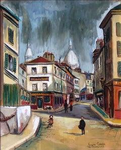 Paris, La Rue Norvin, 1922