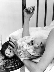 Barbara and Alarm Clock, Paris (Vogue)
