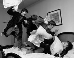 "Beatles, ""Pillow Fight,"" Paris"