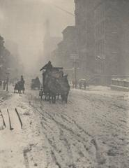 Alfred Stieglitz - Winter Fifth Avenue