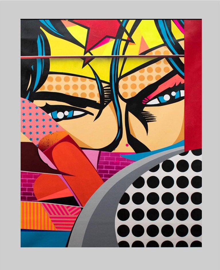 Sen2 (Sandro Figueroa) Portrait Painting - Maravilla