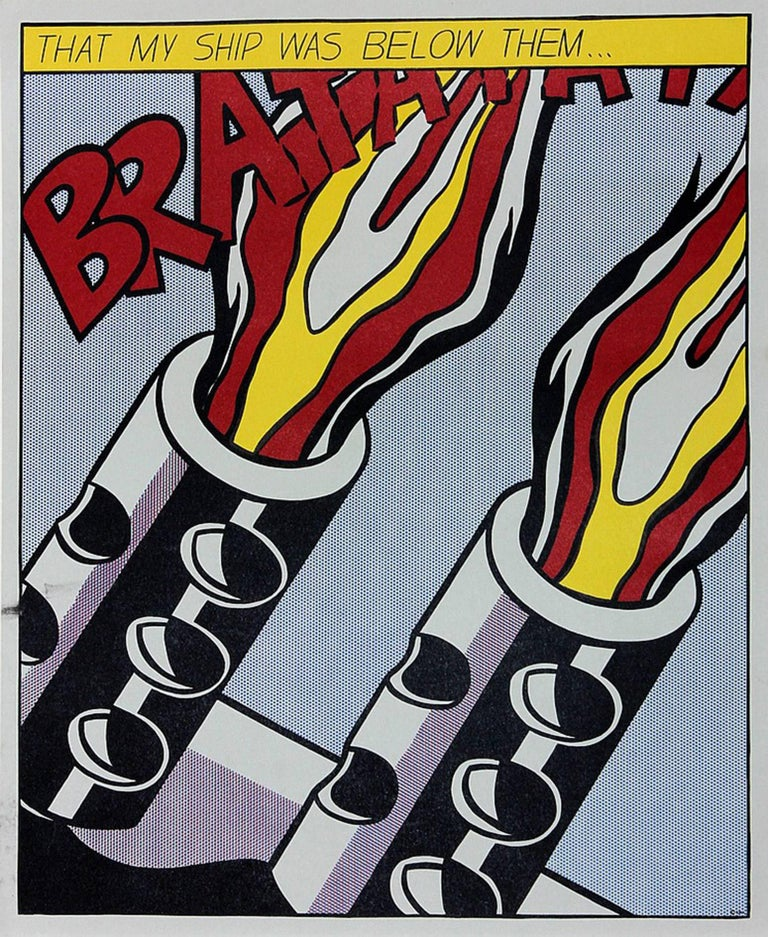 As I Opened Fire III - Print by (after) Roy Lichtenstein