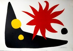 Alexander Calder - The Red Sun (Le soleil rouge)
