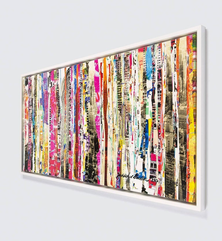 Shreds Of City II - Framed Fine Art Limited Edition of 149 - Contemporary Photograph by Jessica van Haselen