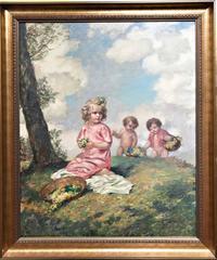 Flowerpodding children