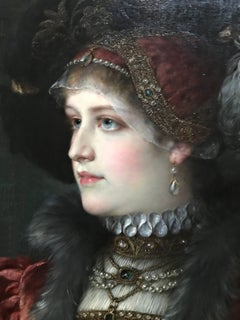 Portrait of a Lady in an elegant costume