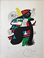 Joan Miró - La mélodie acid, Plate 11
