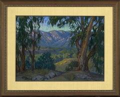 Twilight Colors; San Gabriel Mountains