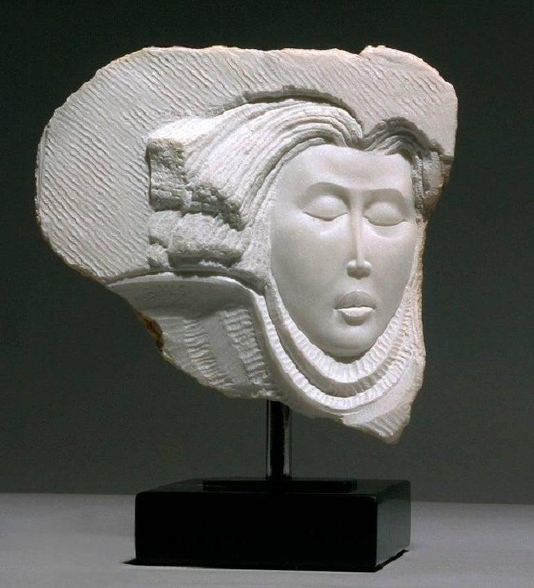Bela Bacsi Figurative Sculpture - Neriad