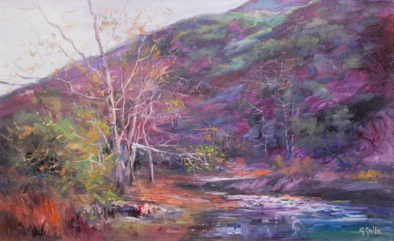 Peter Strauss Ranch, First Light