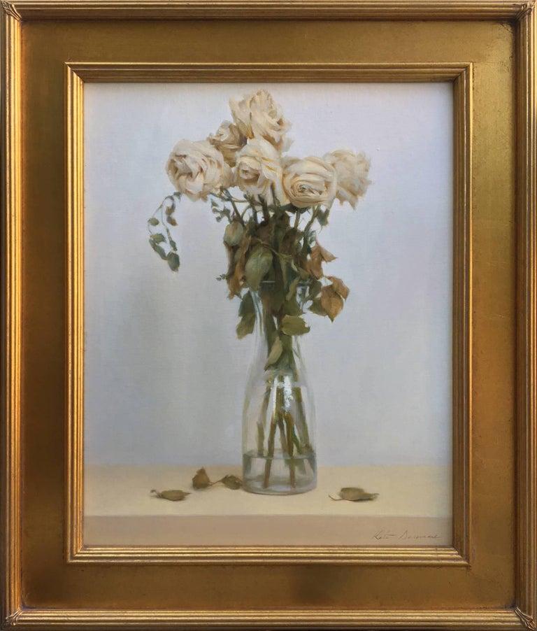 Kate Sammons Still-Life Painting - Dead Roses