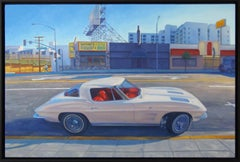 Corvette on Sunset
