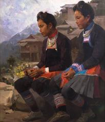 Day Dreamers: Miao Girls fom Basha, Guizhou Province