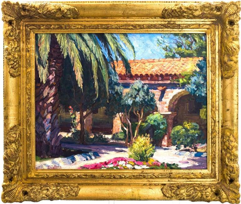 Tim Solliday Landscape Painting - Mission San Juan Capistrano