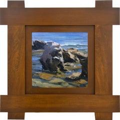 Coastal Rocks; Laguna Beach, California