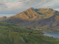 Joseph Paquet - New Day for Two Harbors; Catalina Island