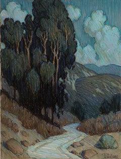 Moonlit Arroyo Pathway