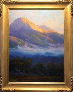 Morning Clouds Hovering Below Mount Blanca; Trinchera Ranch, Colorado