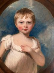 Portrait of a Young Child Attributed to Sir Martin Archer Shee