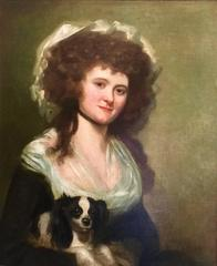 Portrait of a Lady said to be Susan Pilkington Attributed to James Northcote RA