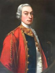 18th Century Portrait of an Officer by William Hoare