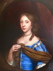 Portrait of Anne des Bouverie Circa 1688 by Frederick Kerseboom