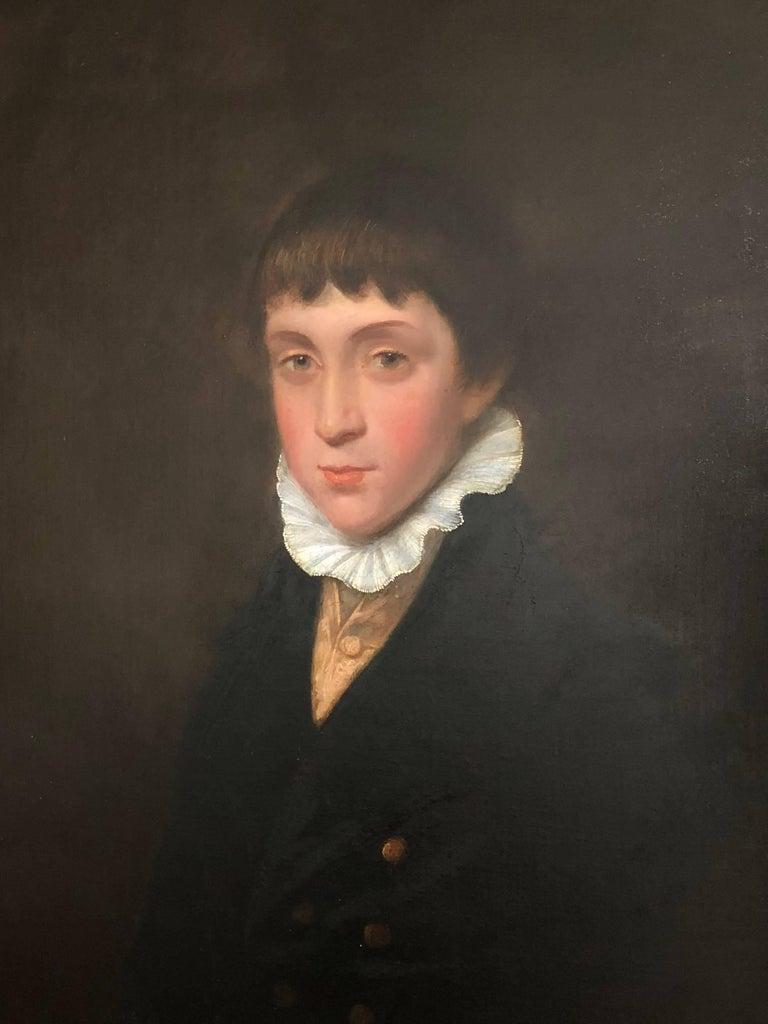 George Watson P.R.S.A Portrait Painting - Portrait of a Regency Boy