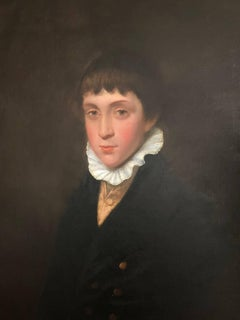 19th Century Portrait of a Regency Boy.