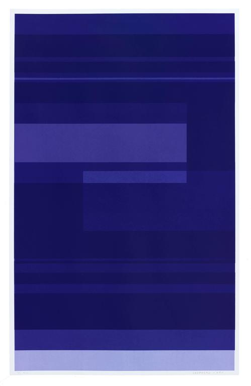 Kate Shepherd Abstract Print - Protest Violet #31