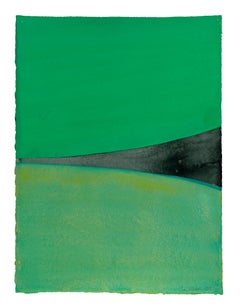 Untitled (green, black funnel)