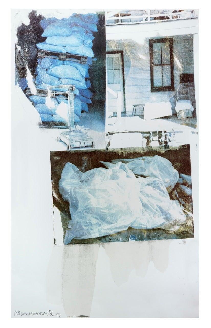 Daydream (Speculations) - Print by Robert Rauschenberg