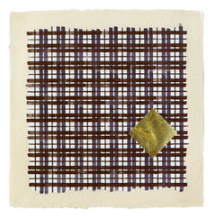 Jennifer Bartlett - Homan-ji II (174 G Purple Plaid), 1995
