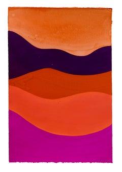 Untitled (red, purple, horizon)