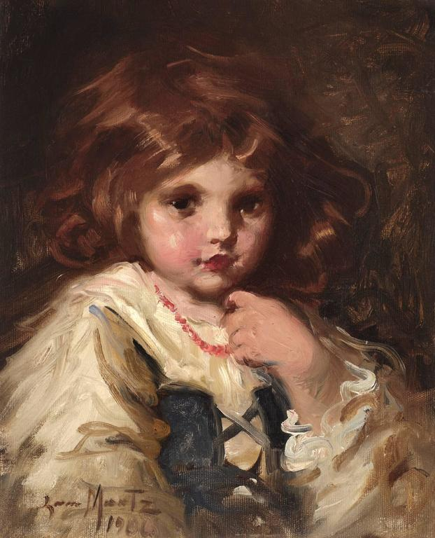 Portrait of a Little Girl 1906