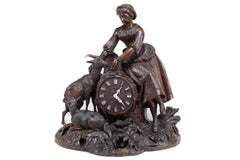 Large Impressive Black Forest Clock