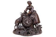 Large Impressive Black Forest Clock
