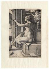 'Justitia' - Allegory of Justice.
