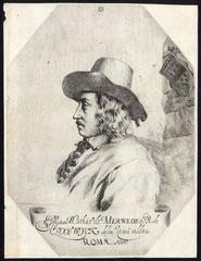Effigies Mathias de Merwede di de Clootwijck