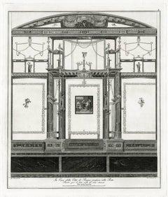 In casa della citta di Pompei prossim della porta.