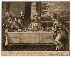 Untitled - Christ in Emmaus.