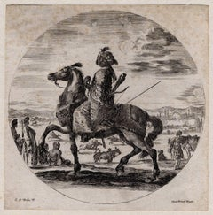 Untitled - A Moorish warrior on horseback.