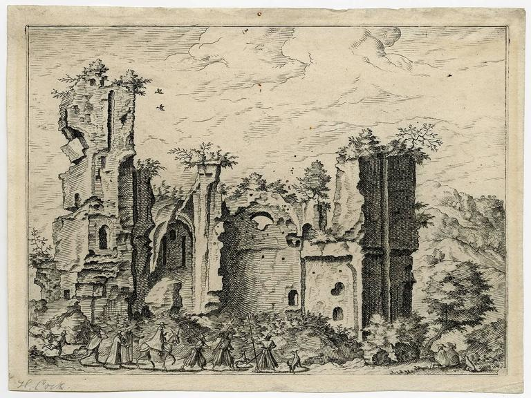 Untitled - Ruins, perhaps the Baths of Caracalla.