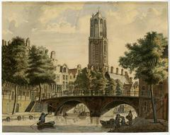 Untitled drawing - Oude Gracht in Utrecht