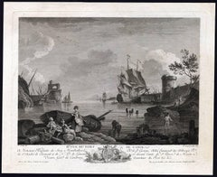 Vue du Port de Cadix