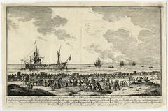 Prospect of the French Frigat La Félicité