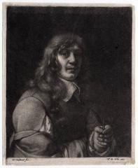 Untitled - Portrait of painter Jacob van der Does.