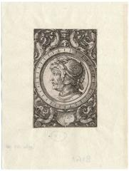 Untitled - Ornament with the head of a soldier.